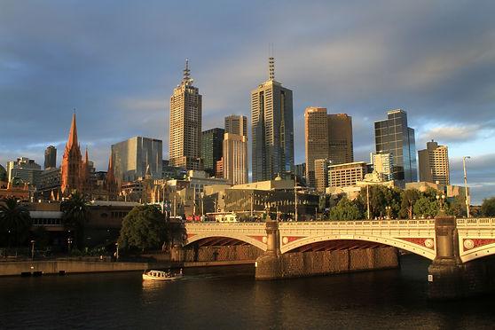 melbourne city view australia