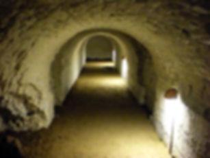 aalborg, denmark, castle, tunnel, slot