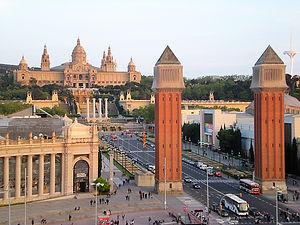 palau nacional de montjuic, barcelona, spain