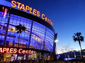 staples center, LA