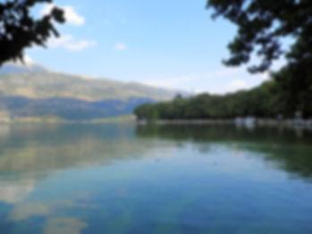 Lake Pamvotis, ioannina, greece