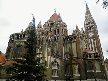 Cathedral, church, szeged, hungary