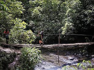 kokoda trail, track, papua new guinea, hike, trek, jungle, mountain, river, bridge
