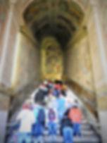 Scala Santa, holy stairs, rome, italy