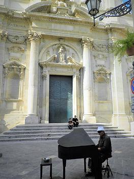 Lecce, piano, church, italy