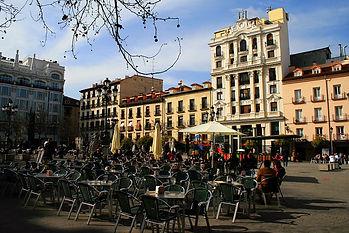 plaza, madrid, spain