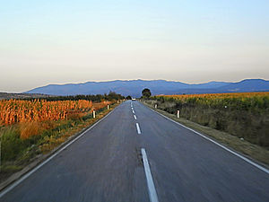 serbia, countryside, driving, road