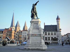 Vrijdag markt, ghent, belgium