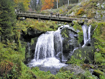 Waterfall, Triberg, germany, black forest