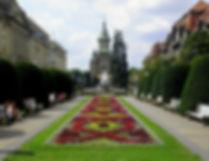 Plata Victoriei, church, timisoara, romania
