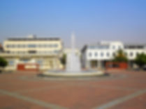 Centre square, podgorica, montenegro
