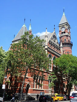 jefferson market library, new york city