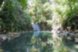 livingston guatemala waterfall