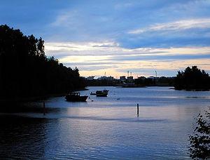 midnight, finland