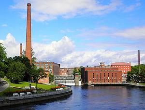 tampere, river, finland