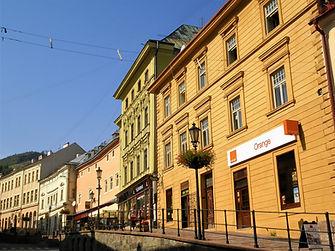 Banska Stiavnica, slovakia, street
