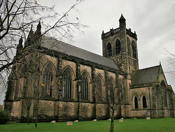 paisley abby, glasgow, scotland