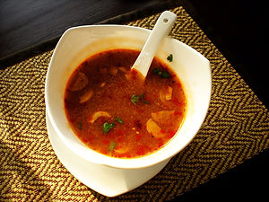 tom yum soup thailand
