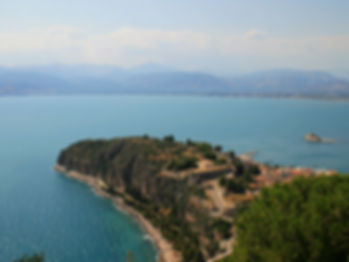 palamidi fortress, view, nafplio, greece