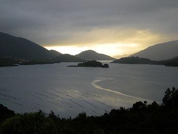 coast, croatia, sunset, water, islands