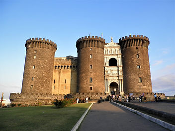 Castelnuovo, naples, italy, castle
