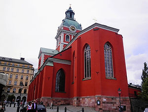 Jakobs church, stockholm, sweden