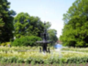 malmo, sweden, kungsparken, fountain