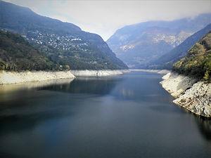 Verzasca dam, Goldeneye, bungy jump, locarno, switzerland