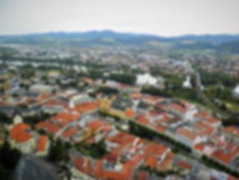 View, Trencin castle, slovakia