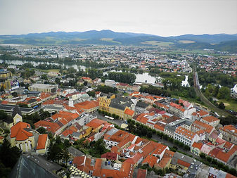 View, Trencin castle, slovakia