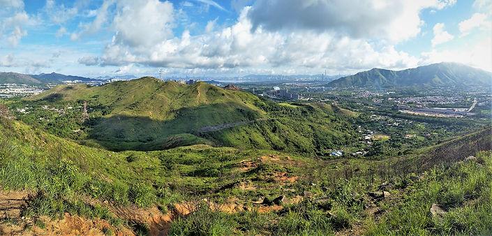 hong kong, trail, tai lam chung, mountain, view