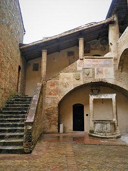 Town hall, San Gimignano, italy