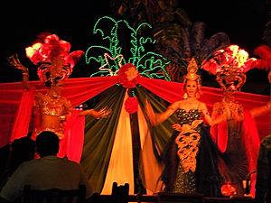 cabaret show, ko samui, thailand