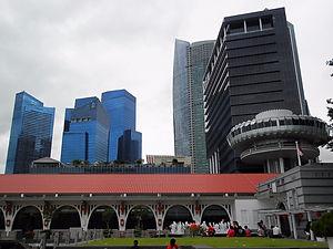 Singapore, buildings, city