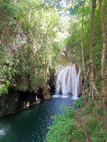 waterfalls, trinidad, cuba