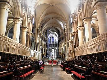 Canterbury cathedral, england, church