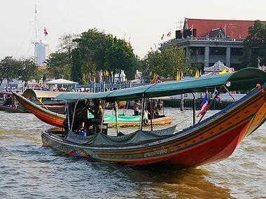 bangkok, thailand, boat, river