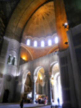 St Sava cathedral, interior, belgrade, serbia