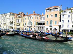 grand canal, gondola, venice, italy