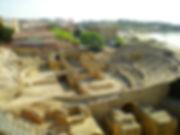 tarragona, spain, ruins