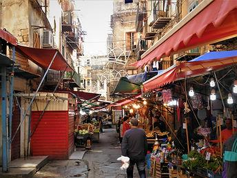 Ballaro market, Palermo, sicily, italy