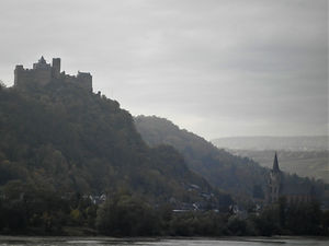 Rhine Valley, castle, germany