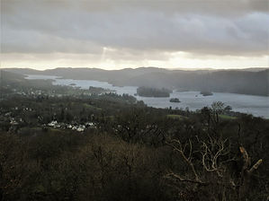 Orrest head, lake district, england, view