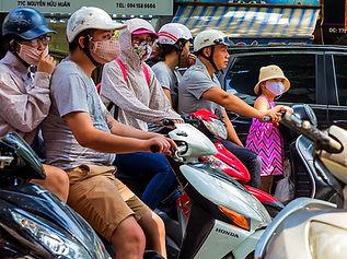 scooter, saigon, ho chi minh city, vietnam