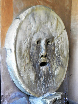 Mouth of truth, Santa Maria in Cosmedin, bocca della verita, rome, italy