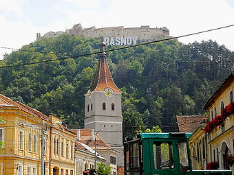 Rasnov fortress, rasnov, romania