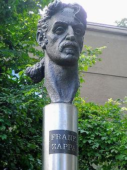 Frank Zappa memorial, vilnius, lithuania