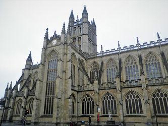 Bath Abbey, church, Bath, england