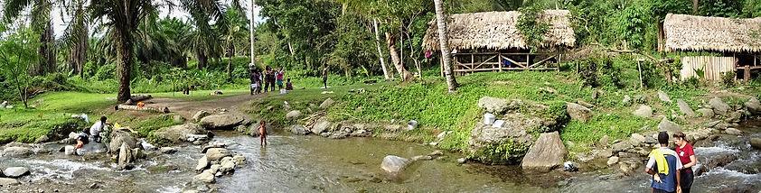kokoda track, kokoda trail, hoi, camp, hike, trek, papua new guinea, creek