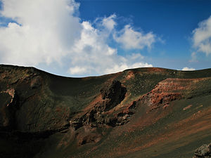 mt etna, volcano, sicily, italy